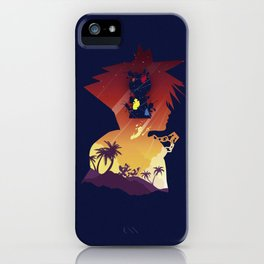 The Many Faces of Games: Kingdom Hearts Sora Ver. iPhone Case