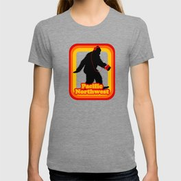 Retro Sasquatch Pacific Northwest T-shirt
