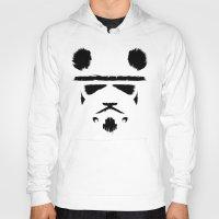trooper Hoodies featuring Panda Trooper by Danny Haas