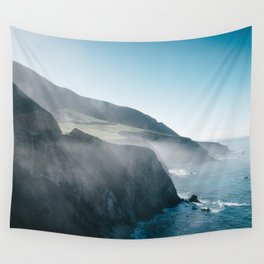 Sea Mist on the Big Sur Wall Tapestry