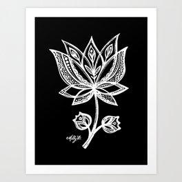 White Flower 94 Art Print