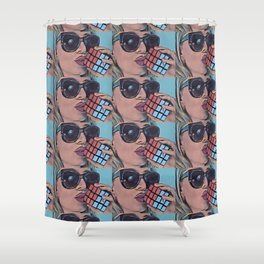 Cubed Shower Curtain