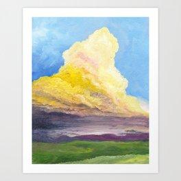 Cloudy Dreams Art Print