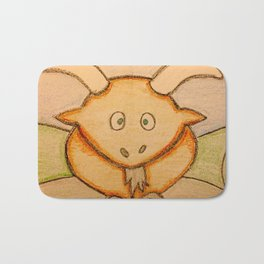 Billy the goat Bath Mat
