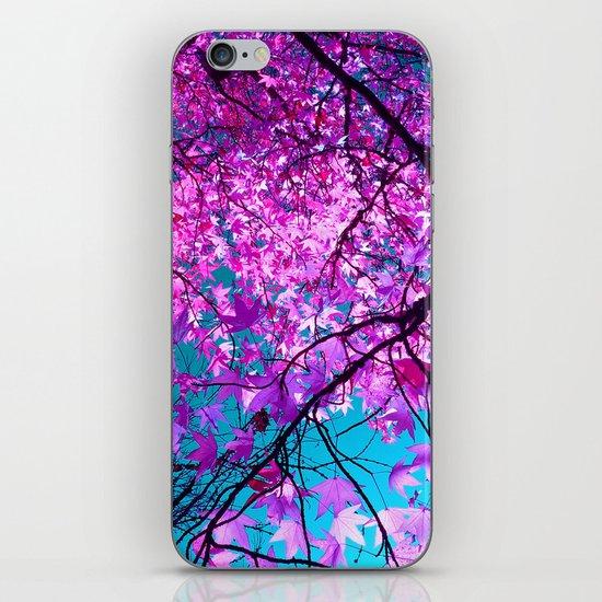 violet tree IV iPhone & iPod Skin