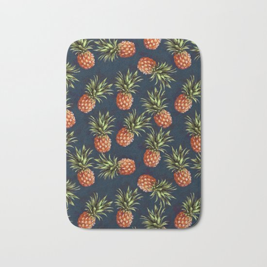 Pineapples Bath Mat