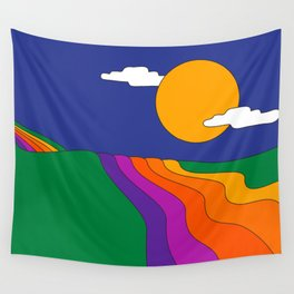 Rolling Hills Wall Tapestry
