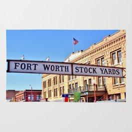 Fort Worth Stock Yards Rug