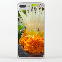 bali offerings Clear iPhone Case