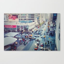 Rushed Canvas Print