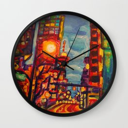 Harbour West, Vancouver Wall Clock