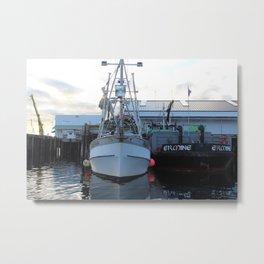 Alaska Tender Metal Print