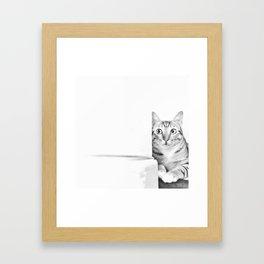 Eavesdropper's Blues Framed Art Print