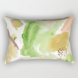 Fall Morning Abstract Rectangular Pillow