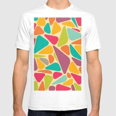 pattern#936 SMALL Mens Fitted Tee White