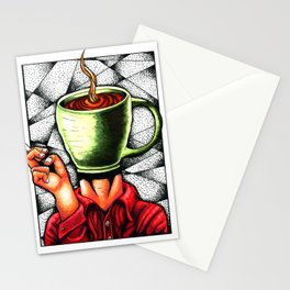 coffee head Stationery Cards