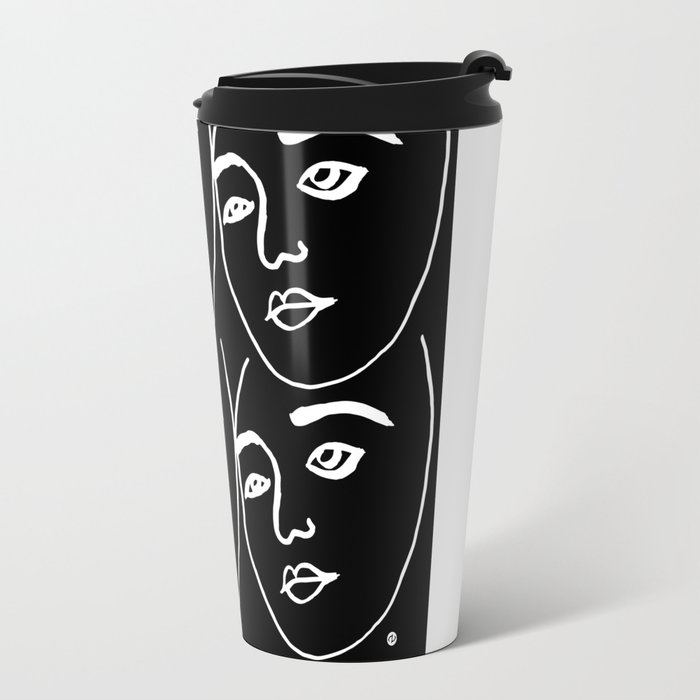 Portraits Travel Mug