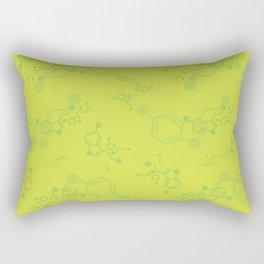serotonin leaves Rectangular Pillow