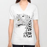 ursula V-neck T-shirts featuring Ursula by Nicholas Darby