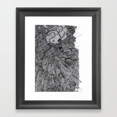 Nervous  Framed Art Print