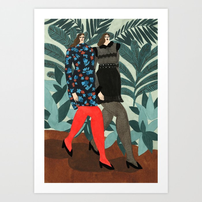Maje Fall 17 Art Print