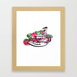 ROSY MENACE Framed Art Print