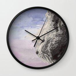 GeometriCat Wall Clock