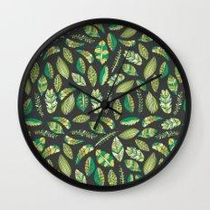 Night Tropical Jungle Wall Clock