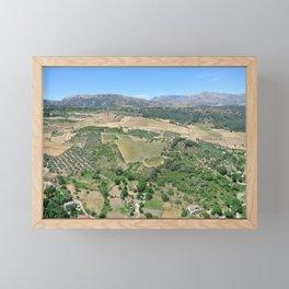 Country Landscape Framed Mini Art Print