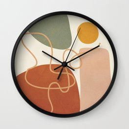 Geometry Abstract 2 Wall Clock