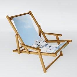 Lost in Santorini Greece Sling Chair
