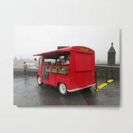 Scottish Food Truck Metal Print