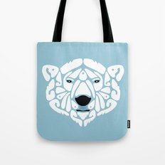 An Béar Bán (The White Bear) Tote Bag