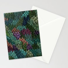 July Leaves Stationery Cards