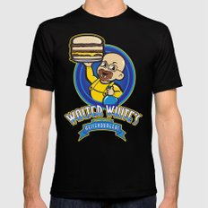 Heisenburgers MEDIUM Mens Fitted Tee Black