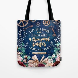 Life is a book Tote Bag