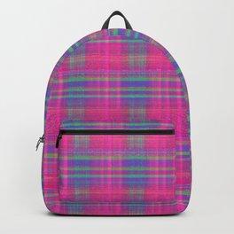 Wild Hot Plaid Backpack