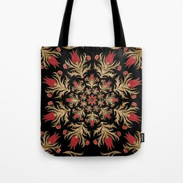 Turkish tulip - Ottoman tile 3 Tote Bag