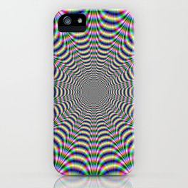 Psychedelic Web iPhone Case