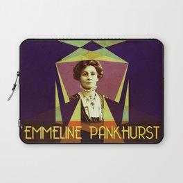 Emmeline Pankhurst Portrait Laptop Sleeve