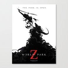 World Park Z Canvas Print