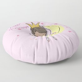 Little Princess Floor Pillow