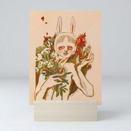 bunny boy Mini Art Print