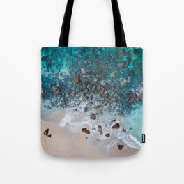 The Ocean Drone Photo Tote Bag
