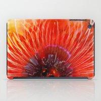 poppy iPad Cases featuring Poppy by Klara Acel
