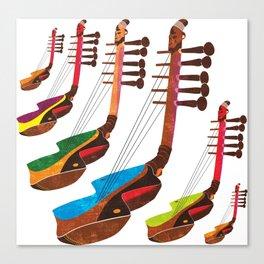 Mangbetu Harp Canvas Print