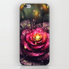 Flower digital art iPhone & iPod Skin