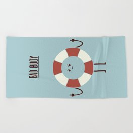 Bad Buoy Beach Towel