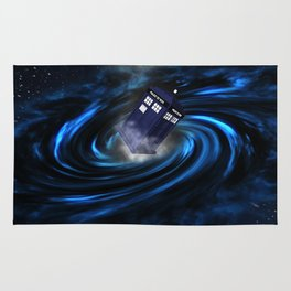TARDIS BLUE HOLE Rug
