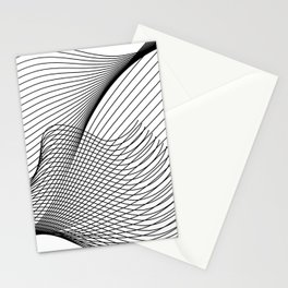 """Script Collection"" - Minimal Letter Z Print Stationery Cards"